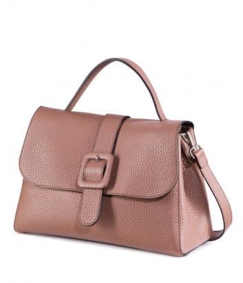 Кожаная сумка TOSCA BLU Apple Pie TF203B331 цвета коричневая