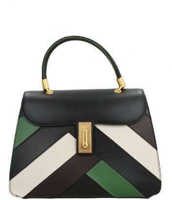 Кожаная сумка TOSCA BLU Diplomatica TF207B191 в стиле пэчворк цветная