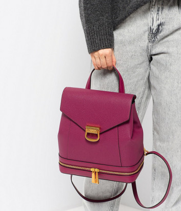 Кожаный рюкзак TOSCA BLU Mimosa TF205B242 цвета фуксии