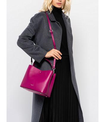 Кожаная сумка TOSCA BLU Creme Brulee TF20KB282 цвета фуксии
