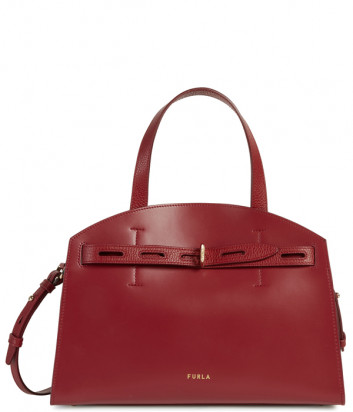 Кожаная сумка FURLA Margherita M WB00178 вишневая