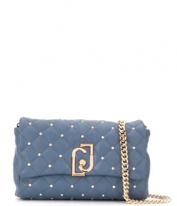 Стеганная сумка LIU JO AA0211E0041 на цепочке синяя