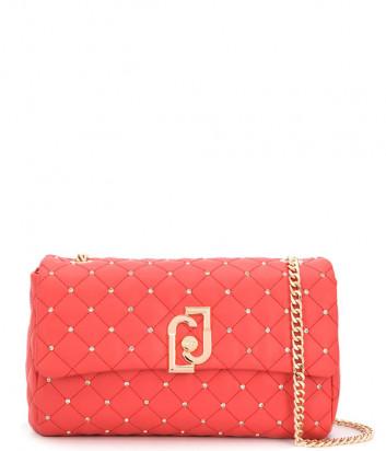 Стеганная сумка LIU JO AA0210E0041 на цепочке красная