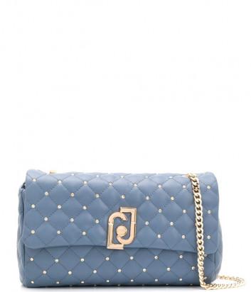 Стеганная сумка LIU JO AA0210E0041 на цепочке синяя