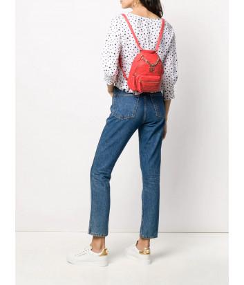 Стеганный рюкзак-сумка LIU JO AA0212E0041 с ручкой-цепочкой красный