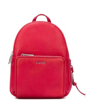 Женский рюкзак LIU JO AA0087E0221 с внешним карманом красный