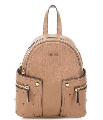 Компактный рюкзак LIU JO AA0189E0031 с внешними карманами бежевый