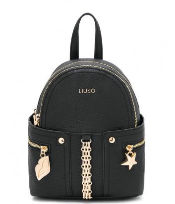 Компактный рюкзак LIU JO AA0189E0040 с внешними карманами черный