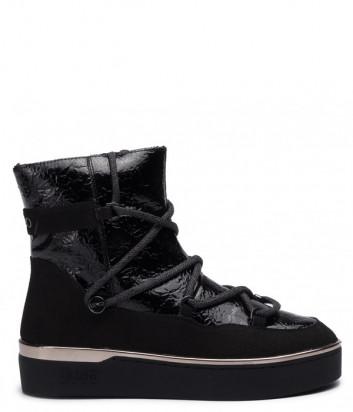 Ботинки на меху LIU JO Sylvia B69021TX051 черные