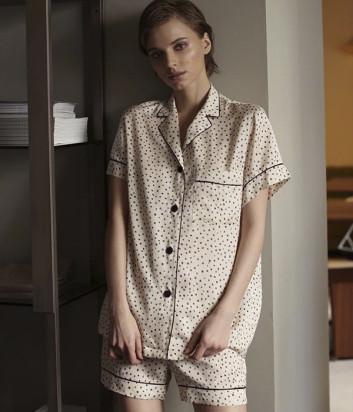 Комплект SUAVITE Грейс рубашка и шорты бежевый