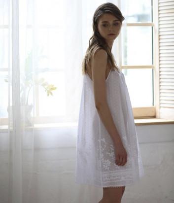 Сорочка SUAVITE Каролина белая