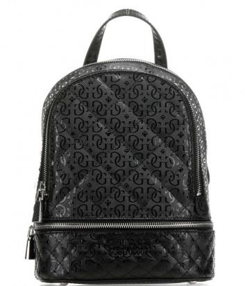Рюкзак GUESS Queenie HWSY7666320 черный с принтом