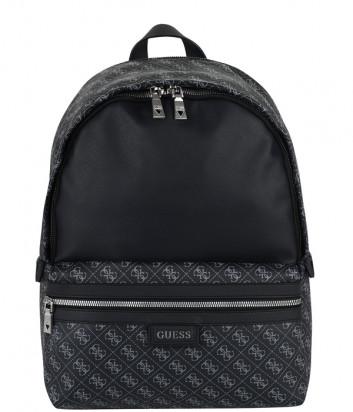 Мужской рюкзак GUESS Dan Logo HMDANLP0305 черный с принтом