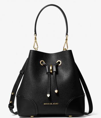 Кожаная сумка MICHAEL KORS Mercer Gallery Small 30F9GZ5L1L черная