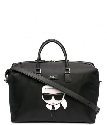 Большая сумка KARL LAGERFELD Ikonik 805911 511199 черная