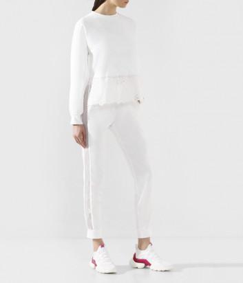 Трикотажный костюм ERMANNO ERMANNO SCERVINO 46T FL08/PL32 FEL с кружевными вставками
