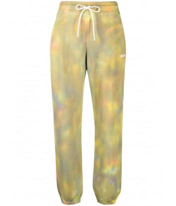 Спортивные брюки MSGM 3041MDP65 с принтом тай-дай