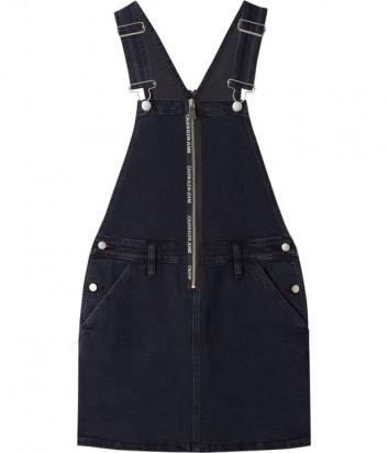 Джинсовый сарафан CALVIN KLEIN Jeans J20J214584 черный