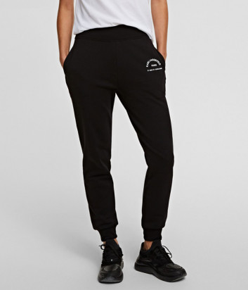 Спортивные брюки KARL LAGERFELD 210W1070 черные