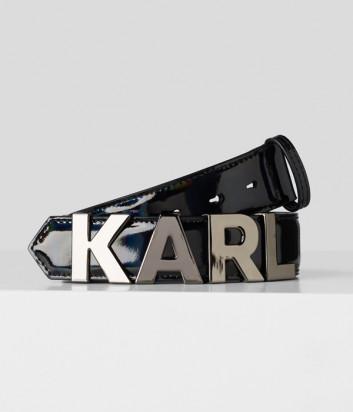 Ремень KARL LAGERFELD 201W3195 с передвижными буквами и переливающимся эффектом