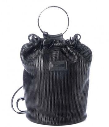 Сумка-рюкзак VIC MATIE Tecla 1Z0587T в перфорированной коже черная