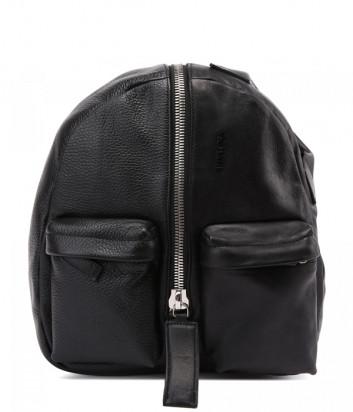 Кожаный рюкзак VIC MATIE Aiko 1Z0566T с внешними карманами черный