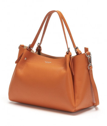 Кожаная сумка TOSCA BLU Posillipo TS21OB271 оранжевая