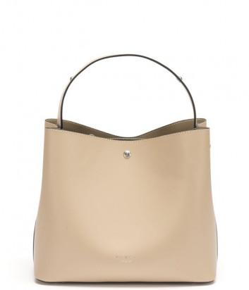 Кожаная сумка TOSCA BLU Jesolo TS21LB282 песочная