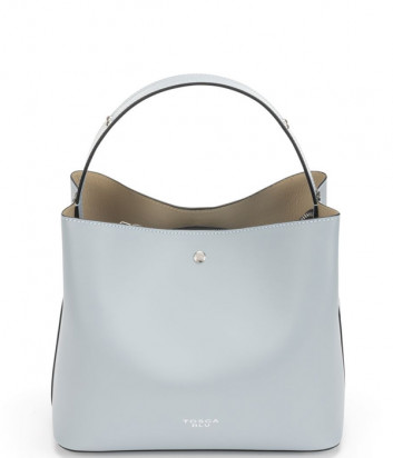 Кожаная сумка TOSCA BLU Jesolo TS21LB282 голубая