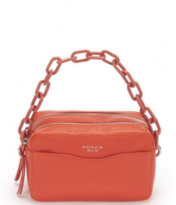 Кожаная сумка TOSCA BLU Vieste TS21IB224 красная