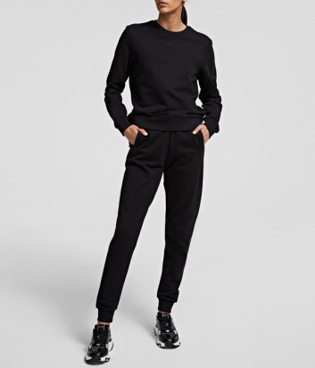 Спортивный костюм KARL LAGERFELD 211W1804/1063 черный с декором