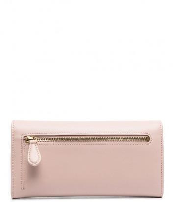 Кожаное портмоне PINKO Love Simply 1P225R розовое