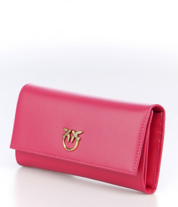 Кожаное портмоне PINKO Love Simply 1P225R красное