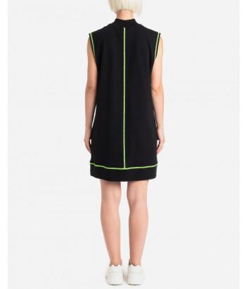 Платье ICE PLAY 21EU2M0H201P434 черное с логотипом