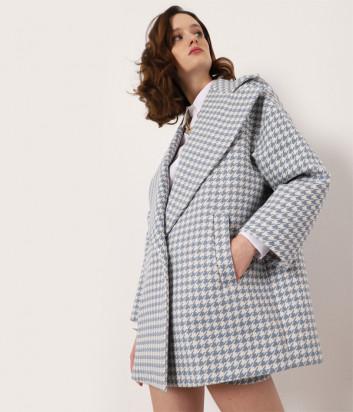 Пальто IMPERIAL KH34BJL принт гусиная лапка
