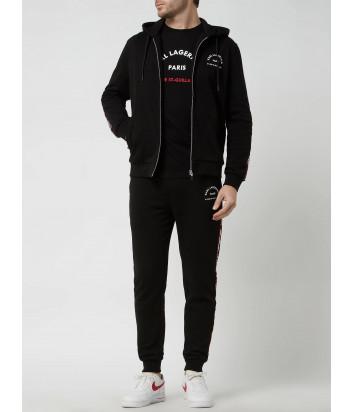 Спортивный костюм KARL LAGERFELD 705071/2 511900 черный с лампасами
