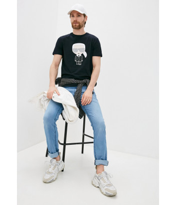 Мужские джинсы KARL LAGERFELD 265840 511806 голубые