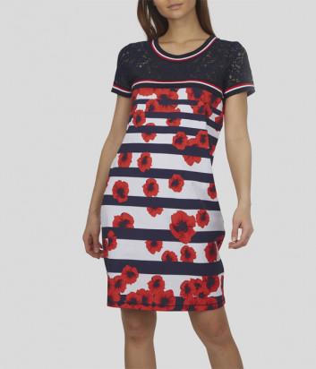Платье SPORTALM 9515527920 принт красные маки