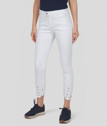 Укороченные брюки SPORTALM 9517509895 белые
