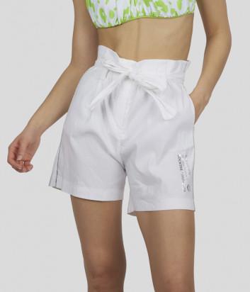 Льняные шорты SPORTALM 9517008077 белые