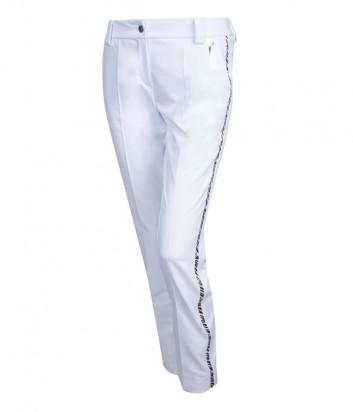 Белые брюки SPORTALM 9516509062 с лампасами