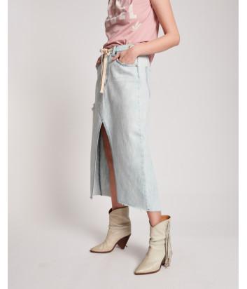 Джинсовая юбка ONE TEASPOON 23285 Florence голубая