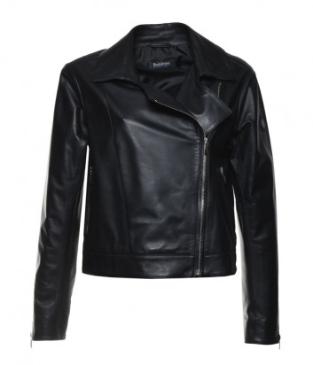 Кожаная куртка-косуха BALDININI 180645 черная
