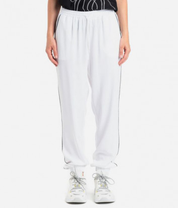 Белые брюки ICE PLAY 21EU2M0B081P524 свободного кроя
