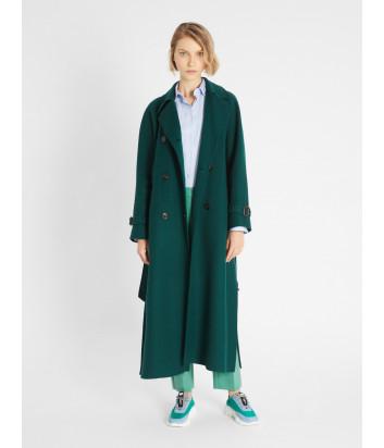 Пальто-тренч WEEKEND Max Mara Potente WE50110217 зеленое