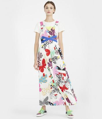 Длинное платье-сарафан WEEKEND Max Mara Vista WE52210111 с ярким принтом