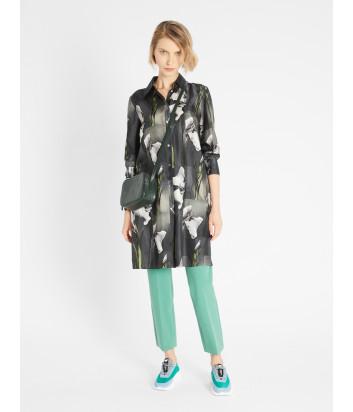 Шелковое платье-рубашка WEEKEND Max Mara Ere WE52210217 с цветочным принтом