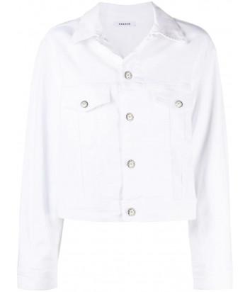Джинсовая курточка P.A.R.O.S.H. Cunit D430291 белая