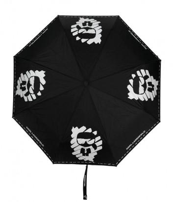 Зонт KARL LAGERFELD Ikonik 211W3904 в стиле граффити