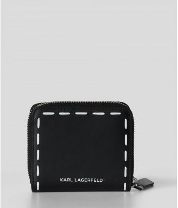 Компактный кошелек KARL LAGERFELD Ikonik 211W3206 в стиле граффити